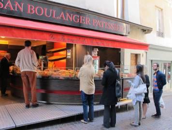 Fransk brødkø!