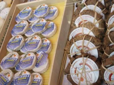 Franske oster fra Provence.