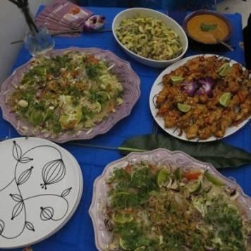 Den ferdige maten fra alle lag.