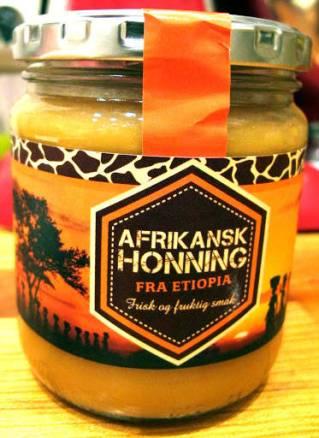 Nydelig afrikansk honning kjøpt hos Ica.