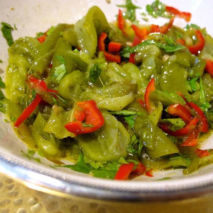 paprika- og chilirelish
