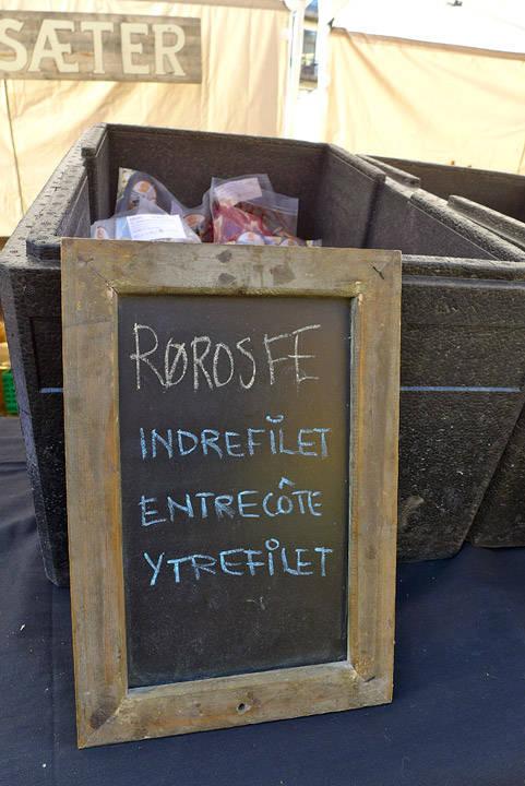 Brimi Sæter selger Rørosfe.