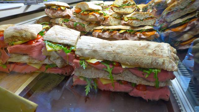 Seriøs sandwich