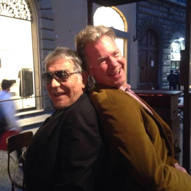 Roberto Cavalli og min mann, Erik!