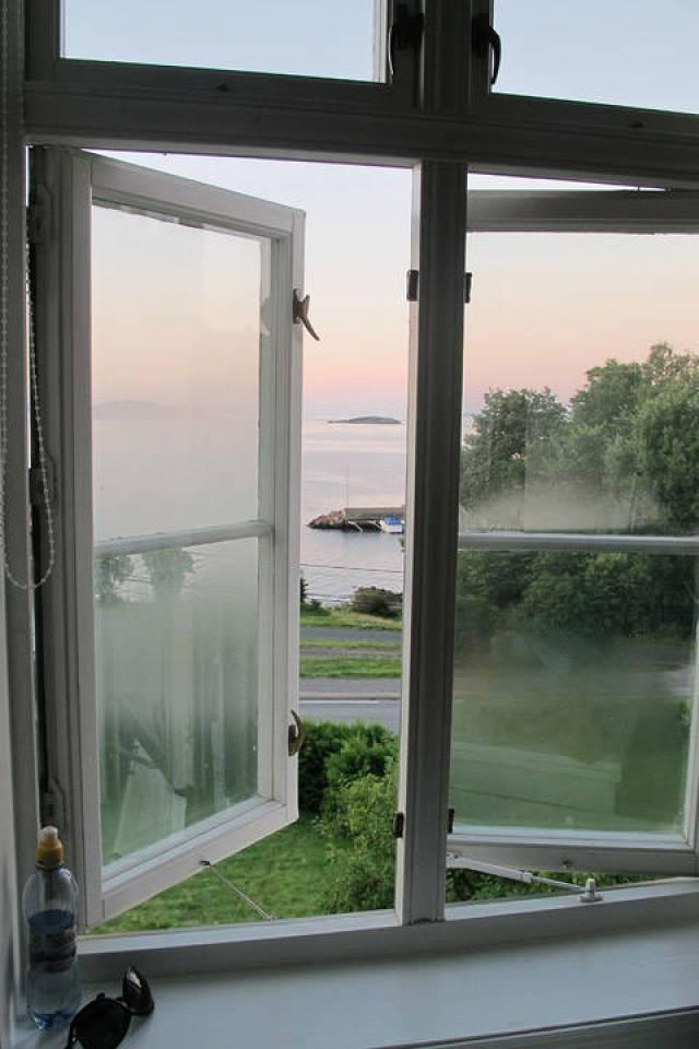 Utsikten fra Bikuben pensjonat