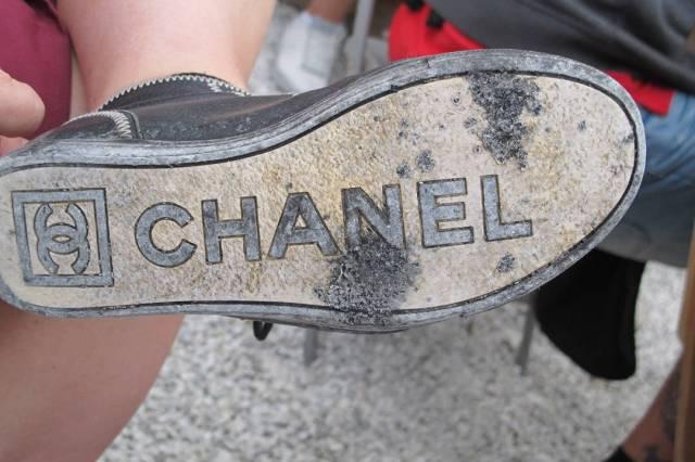 Svidde skosåler.