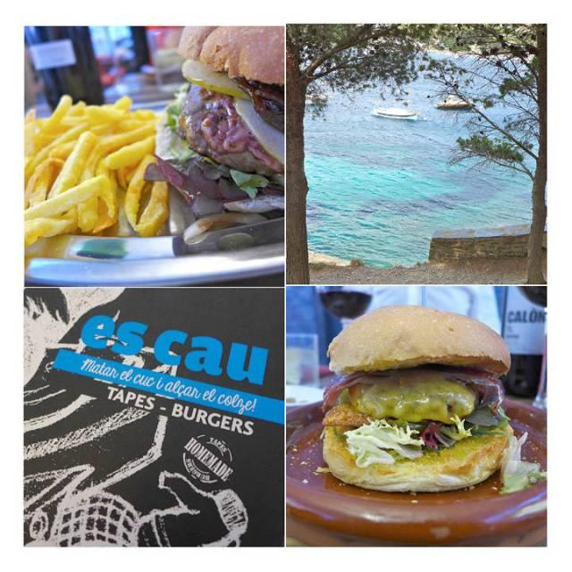 Alltid gode burgere på Es Cau