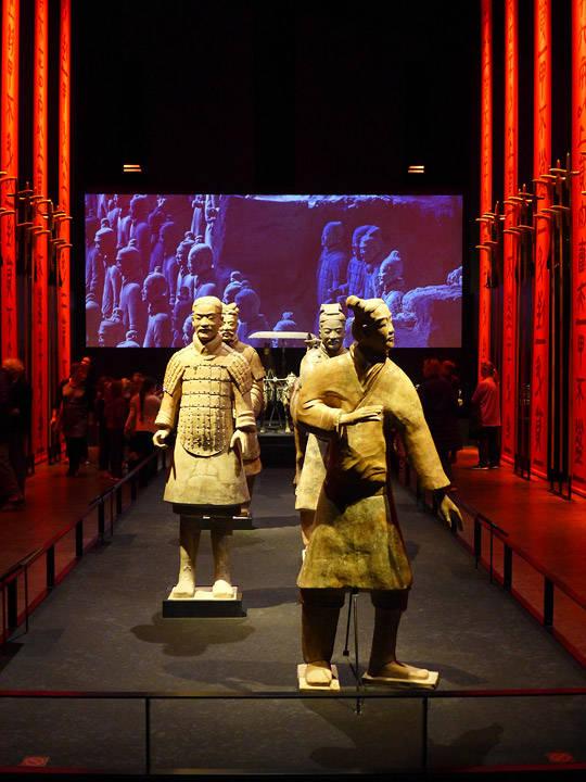 Frem til 30. september kan du se utstillingen «China's terracotta army» på MOMU.