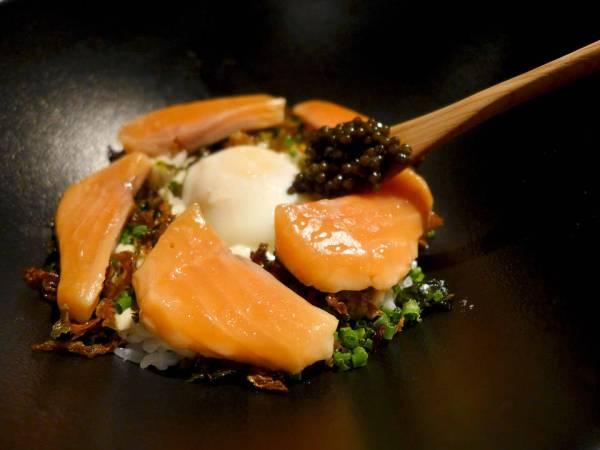 Demontert sushi.