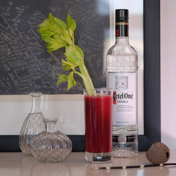 Min supersunne Bloody Mary.