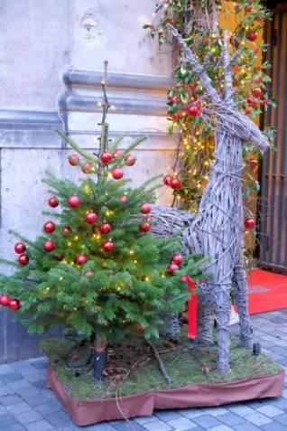 Julepyntet Købmagergade.