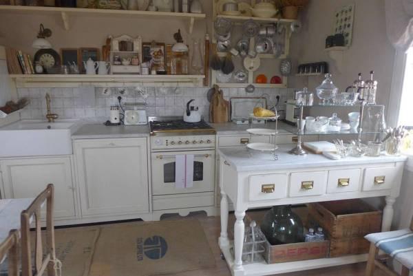 Kjøkkenet på Quartopiano. Er det ikke vakkert?
