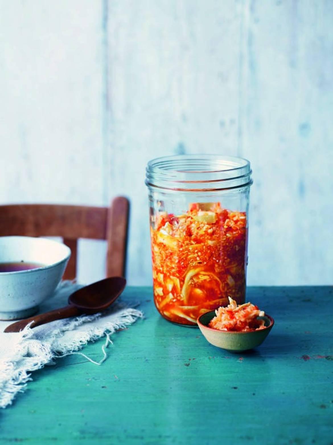 Koreansk kimchi Foto: Tara Fisher