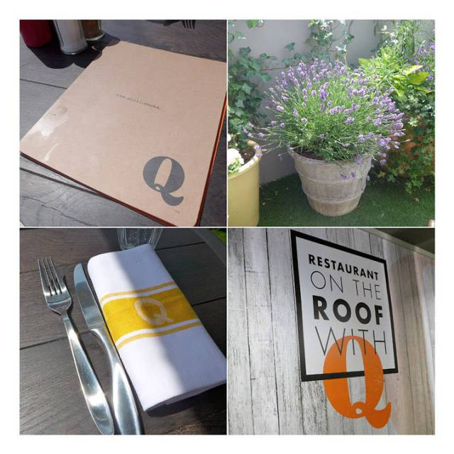 On the roof with Q. Selfridges, pop-up-restaurant, sommeren 2014
