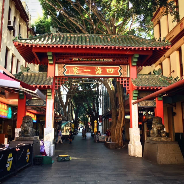 Chinatown i Sydney.