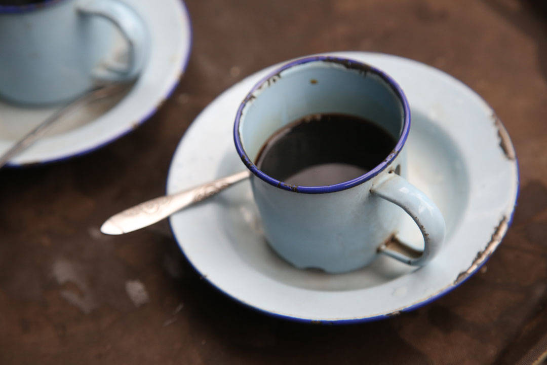 Vietnam er kjent for sterk og god kaffe.