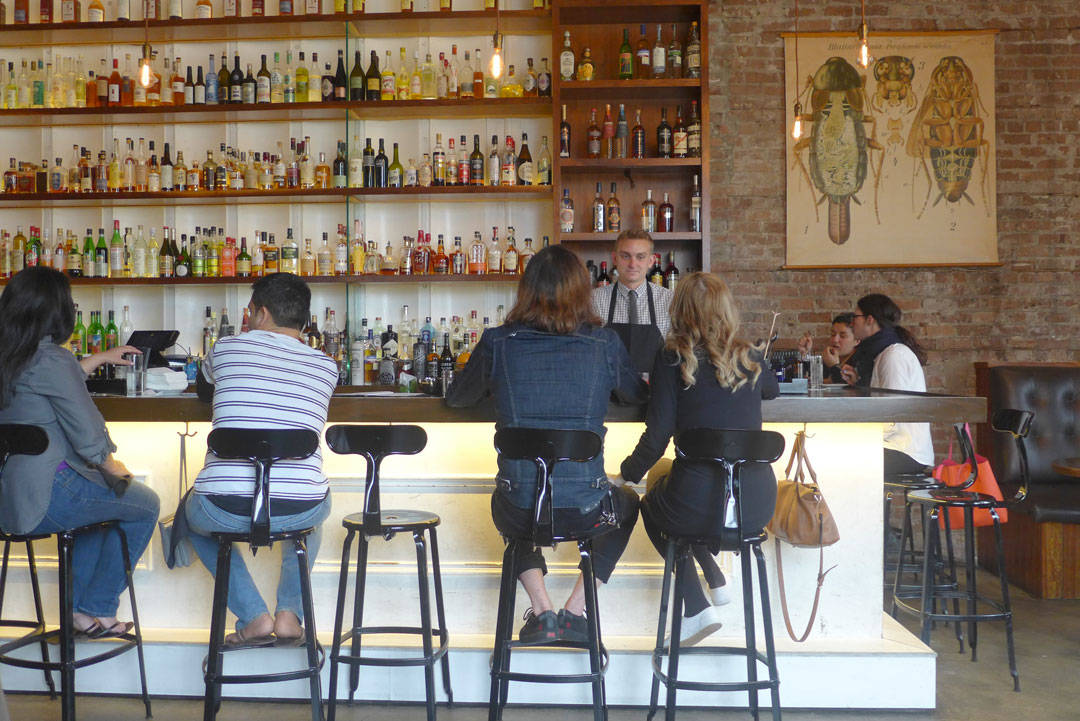 Cure Cocktailbar i Milan.