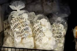 marengs laget på eggehviter fra frittgående høner.