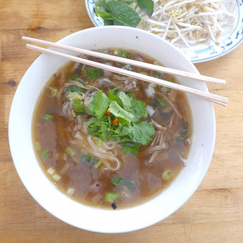 Vietnamesisk Pho.