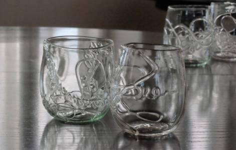 Fine glass.