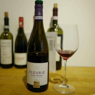 Fleurie Bel Air 2014 fra Lafarge Vial koster 319,90. Deilig Beaujolais laget på 100% gamay. Bløt og fruktig vin som man kan kose seg skikkelig med.
