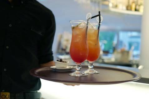 Fabelaktige cocktails på Golden Tulip.