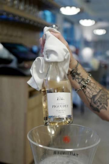 En helt nydelig flaske rosévin.