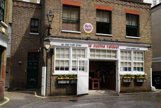 Kokkeskolen der du kan bestille kokkekurs hvis du er i London. Foto: Helle Øder Valebrokk