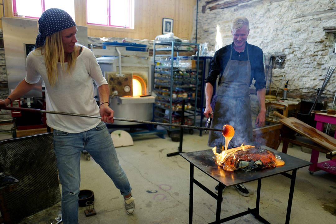 mat på glass, jennie Olofsson, Luqaz Ottosson, big pink, nuevo.helleskitchen.org