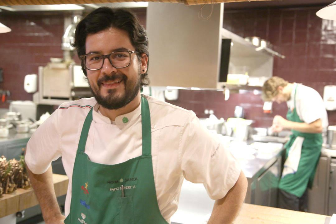 Paco Mendez, kjøkkensjef på Hoja Santa og Niño Viejo.