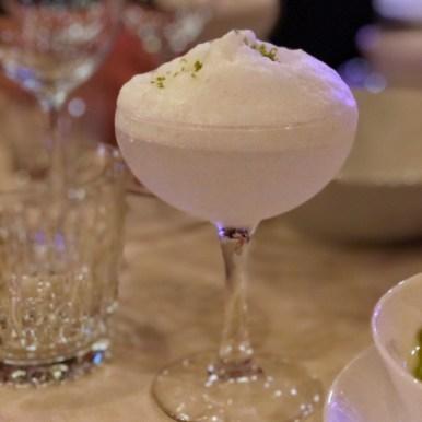 Margarita med saltskum. Akkurat den samme som serveres på Hoa Santa og Nino Viejo i Barcelona.