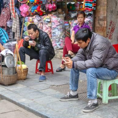 Fra Hanoi, Vietnam.
