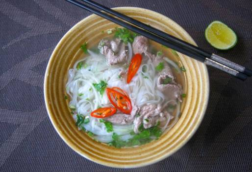 Phở, Hanoi-versjon.