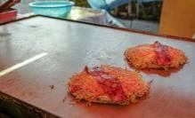 Okonomiyaki ( japansk pannekaker)