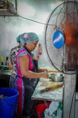 Farata-baking på gang.