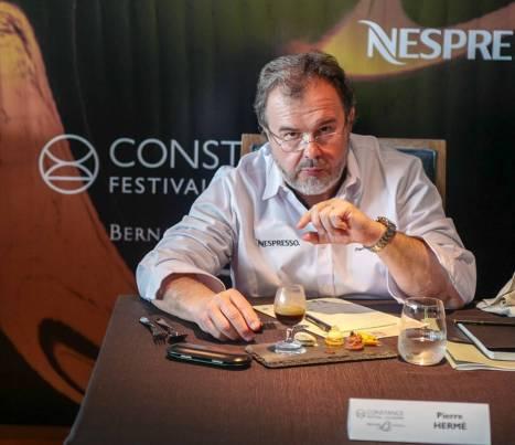 Pierre Hermé var også dommer i Nespresso-konkurransen.
