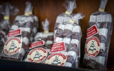 Klassiske Bremen-godsaker med peppermynte og sjokolade