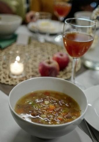 Nydelig kjøttsuppe