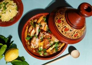 Tagine med kylling og couscous
