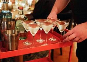 Cocktails og høstmat