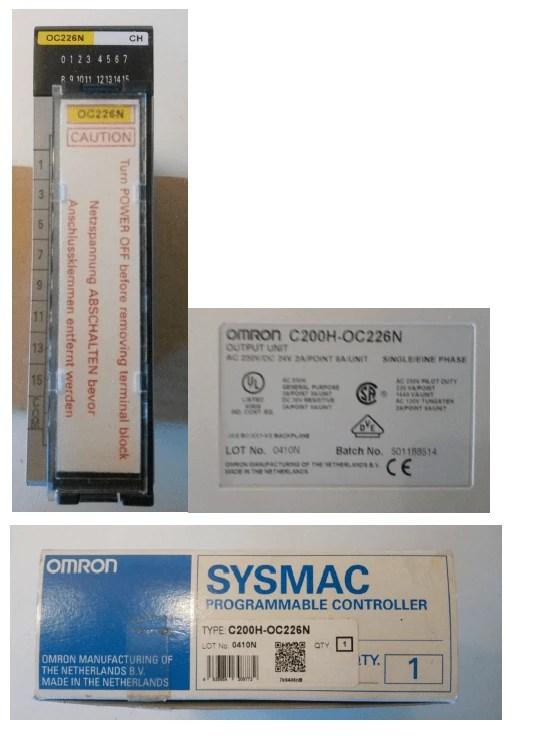 OMRON C200H-OC226N 1