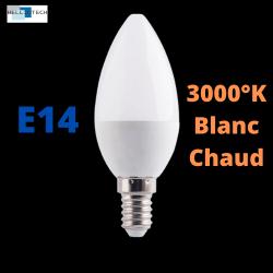 Ampoule LED E14 6W 3000°K