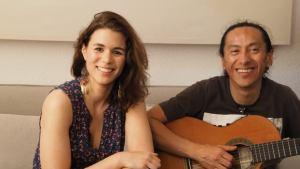 Cecilia Martines und Darwin Iniguez