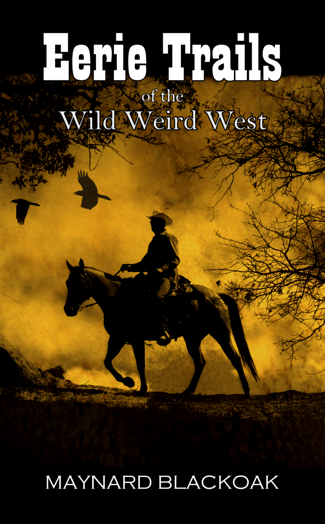 Eerie Trails of the Wild Weird West by Maynard Blackoak – Guest Post