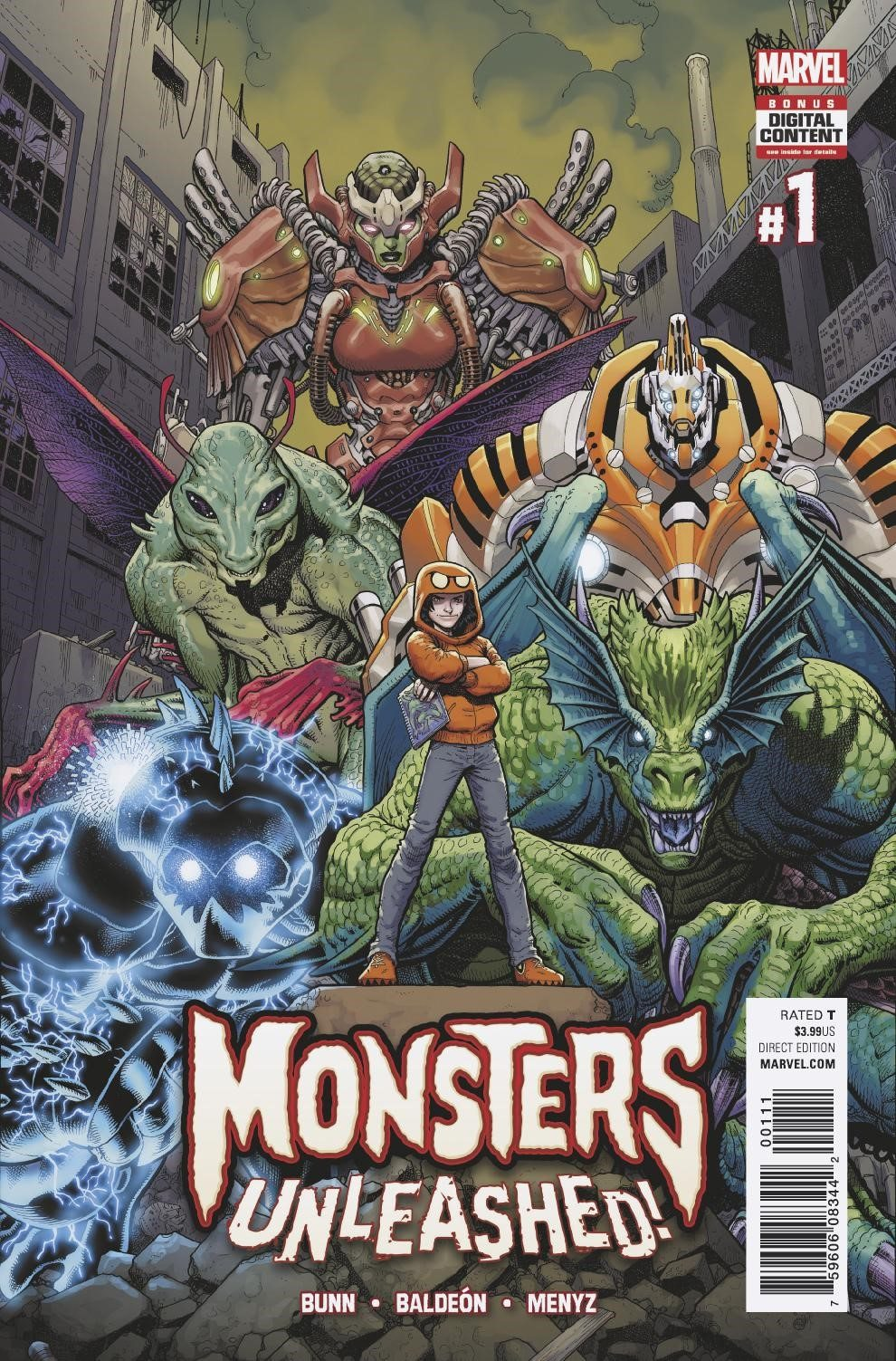 Meet Marvel's Newest Heroes – Your First Look at 'Monsters Unleashed' #1!
