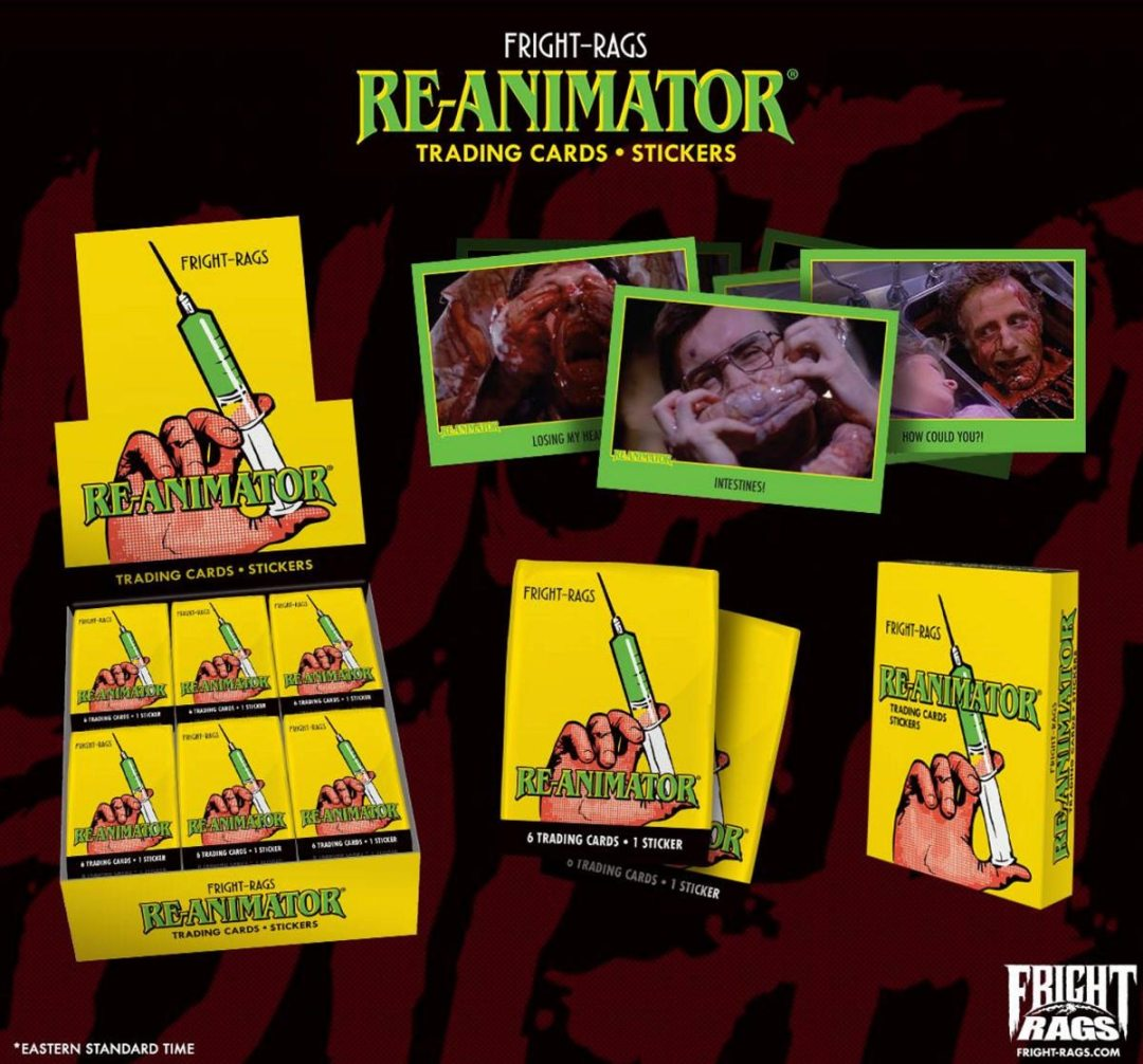 Fright Rags Is Bringing Us 'Re-Animator' Trading Cards!