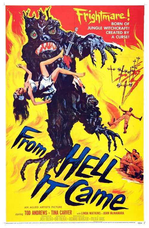 From Hell it Came (1957) – Blu-ray/DVD Release