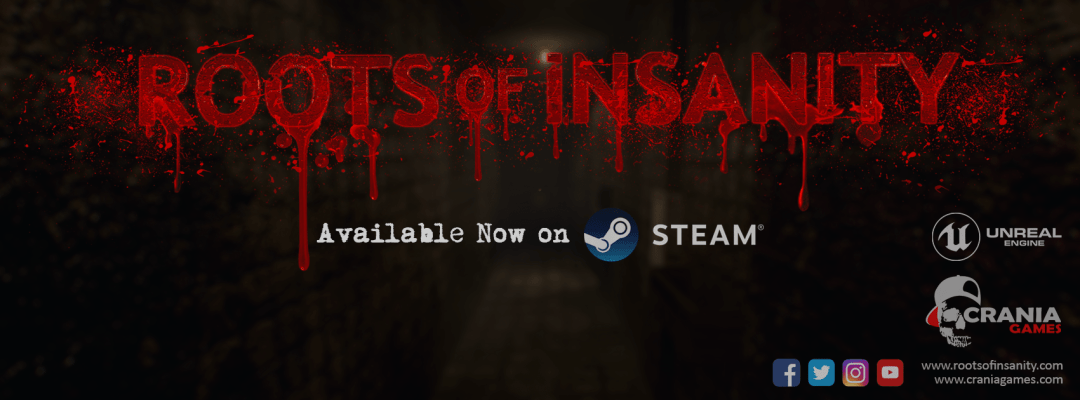 'Roots of Insanity' Available Now on Steam!