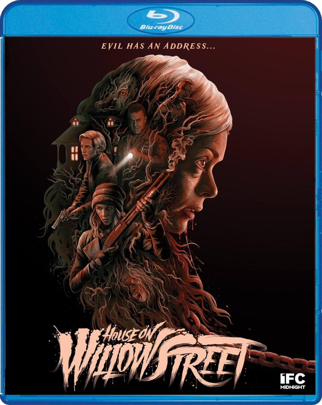 The Cover for 'The House on Willow Street' Blu-ray Looks Absolutely Beautiful!