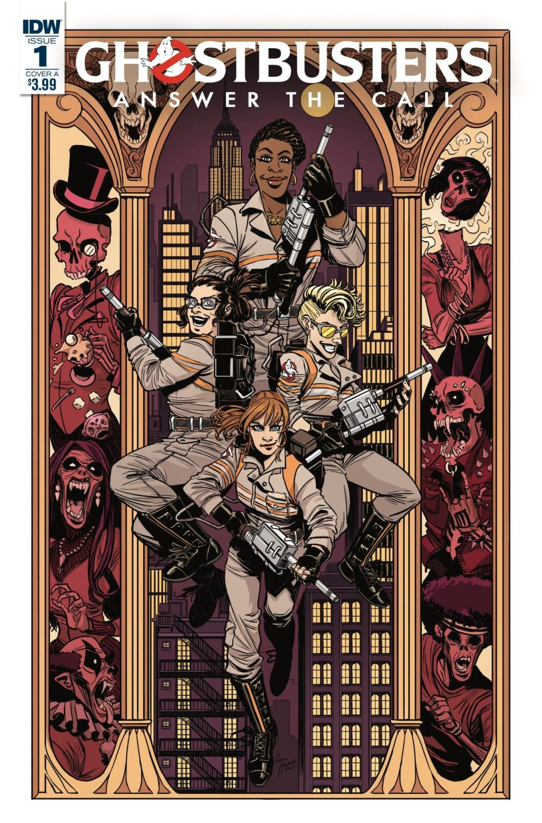 """'Ghostbusters' """"Answer the Call"""" Crew to Star in New Comic Series"""